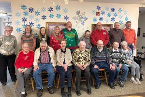 Holiday group photo rosholt countryside inn